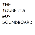 TOURETTS GUY SOUNDBOARD logo