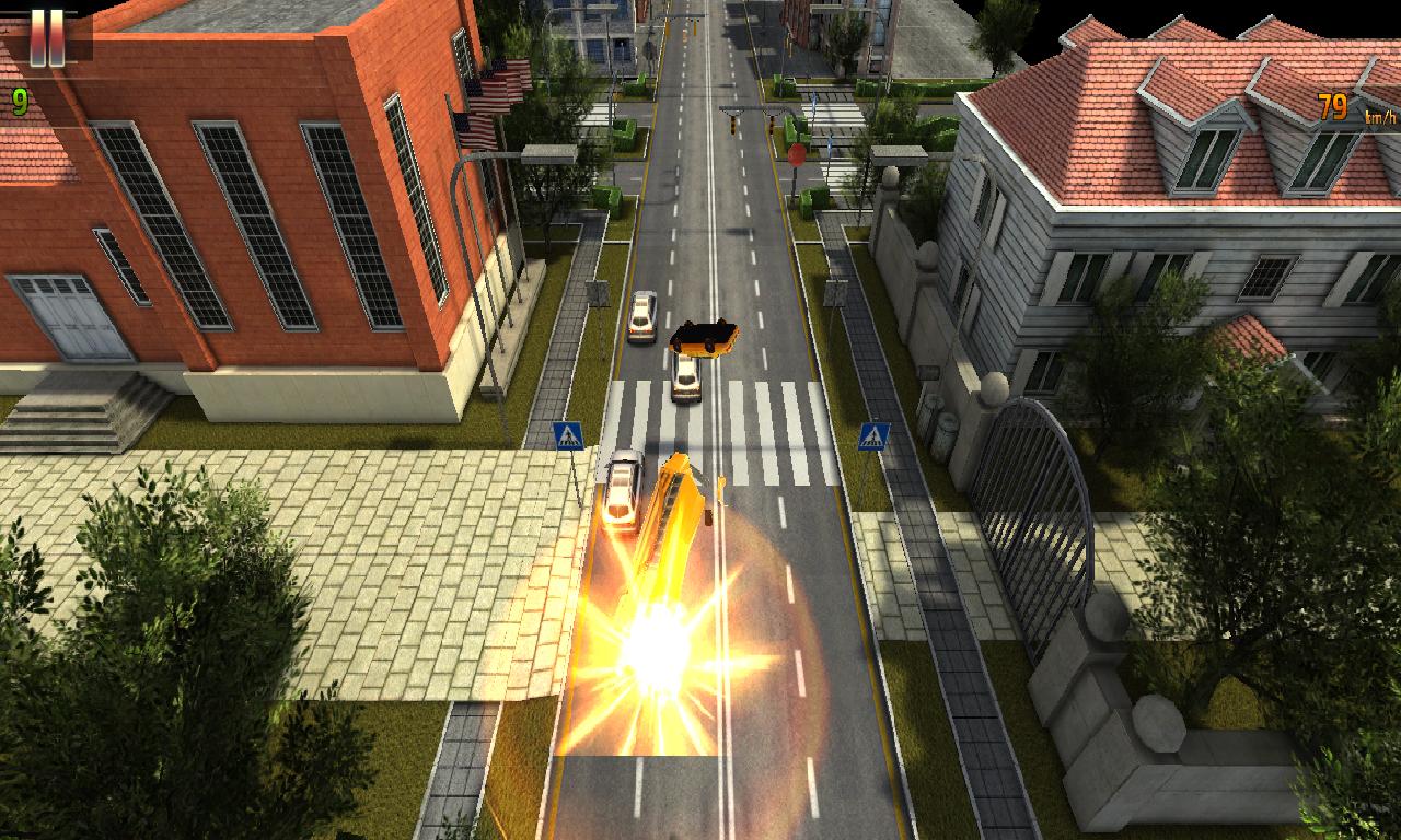 School Bus Joyride Racing 3D - screenshot