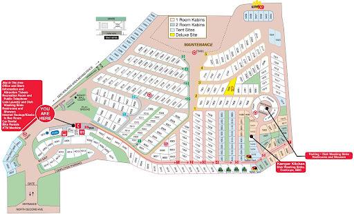 San Diego Metro KOA RV Parky - California koa map