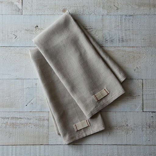 Heirloomed Linen Tea Towels (Set of 2)