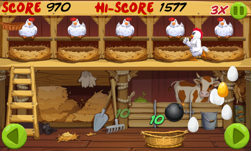 Angry Chicken: Egg Madness! - screenshot