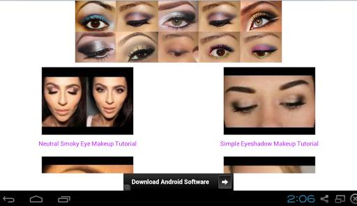 眼部化妝教程