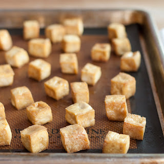 How to Make Baked Tofu for Salads, Sandwiches & Snacks.