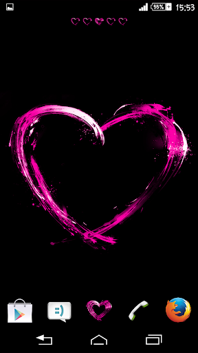 Pink Hearts Theme By Arjun