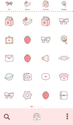 【免費個人化App】두근두근 컵케이크 도돌런처 테마-APP點子
