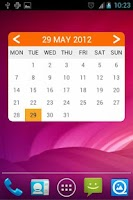 Screenshot of acWidgets: Your Calendar