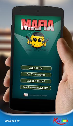 Mafia Emoji Keyboard