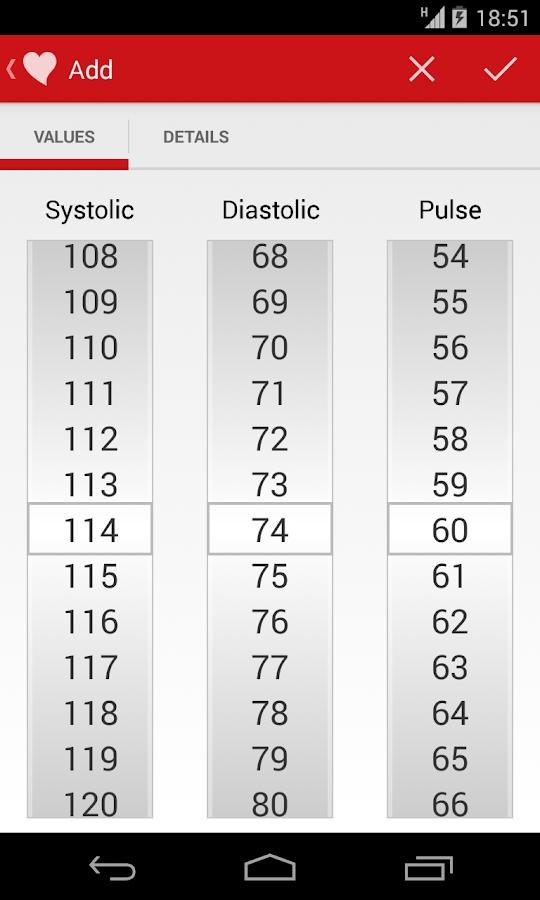Blood Pressure Companion - screenshot