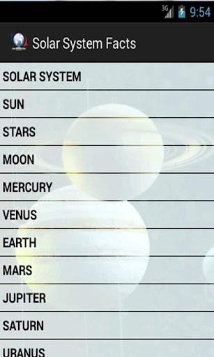 【免費教育App】Solar System Facts-APP點子