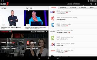 Screenshot of Télé 7 Jours - Programme TV