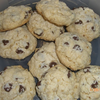 Chocolate Chip Egg Free Cookies.