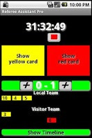 Screenshot of Referee Assistant Pro