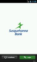 Screenshot of Susquehanna Bank Mobile