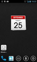 Screenshot of Calendar uccw skin