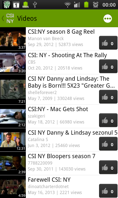 CSI NY Fan - screenshot