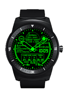 A48 WatchFace for Round Wear- screenshot thumbnail