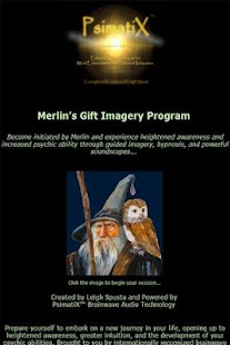 Merlin's Psychic Initiation