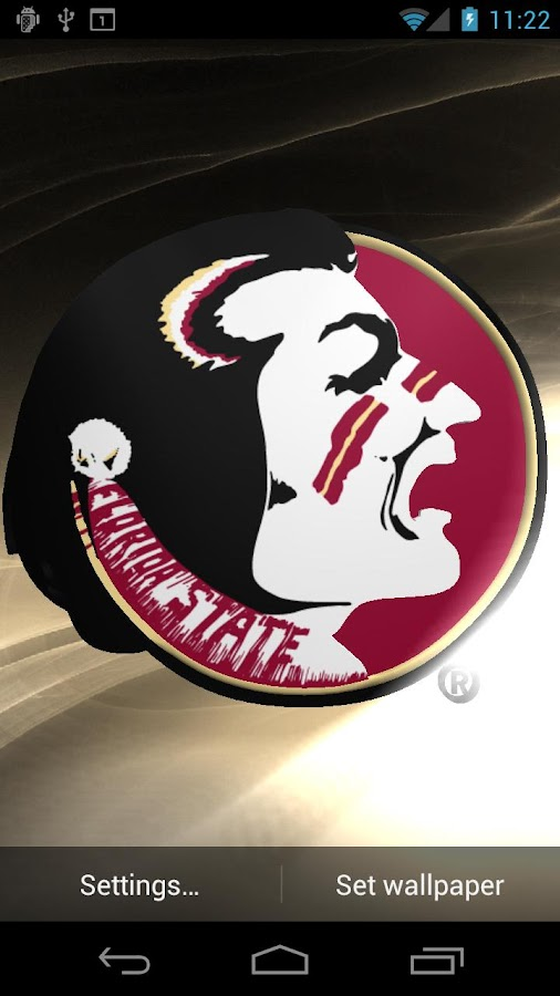 Florida St Seminoles LWP &Tone - screenshot