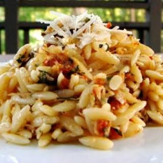 Sun-Dried Tomato Basil Orzo.