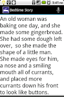 Screenshot of Bedtime Story