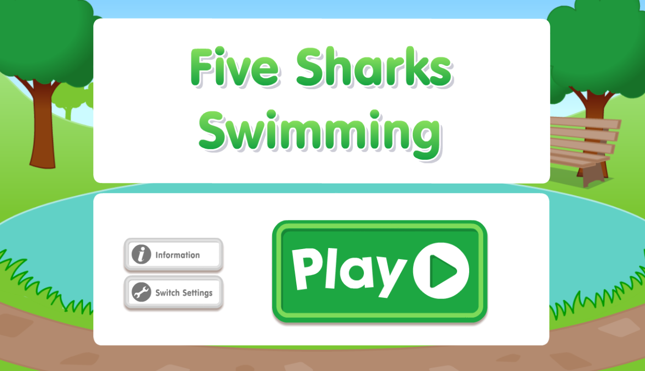 Five Sharks Swimming- screenshot