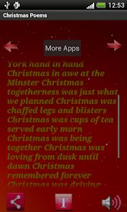 Christmas Poem Quotes App - screenshot thumbnail