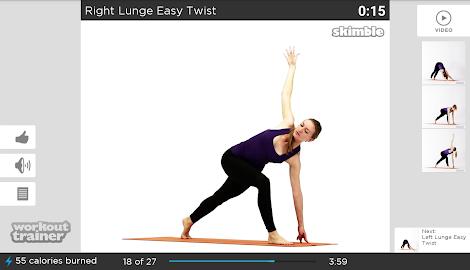 Workout Trainer fitness coach Screenshot 38