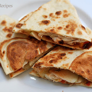 Apple Chicken Quesadilla