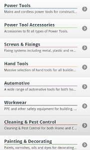 Toolstation Mobile screenshot 1