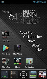 Andro Iphone ADW GO NOVA APEX - screenshot thumbnail