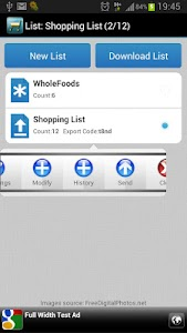 Iconic Shopping List screenshot 0