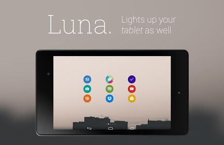 Luna - Icon Pack screenshot 3