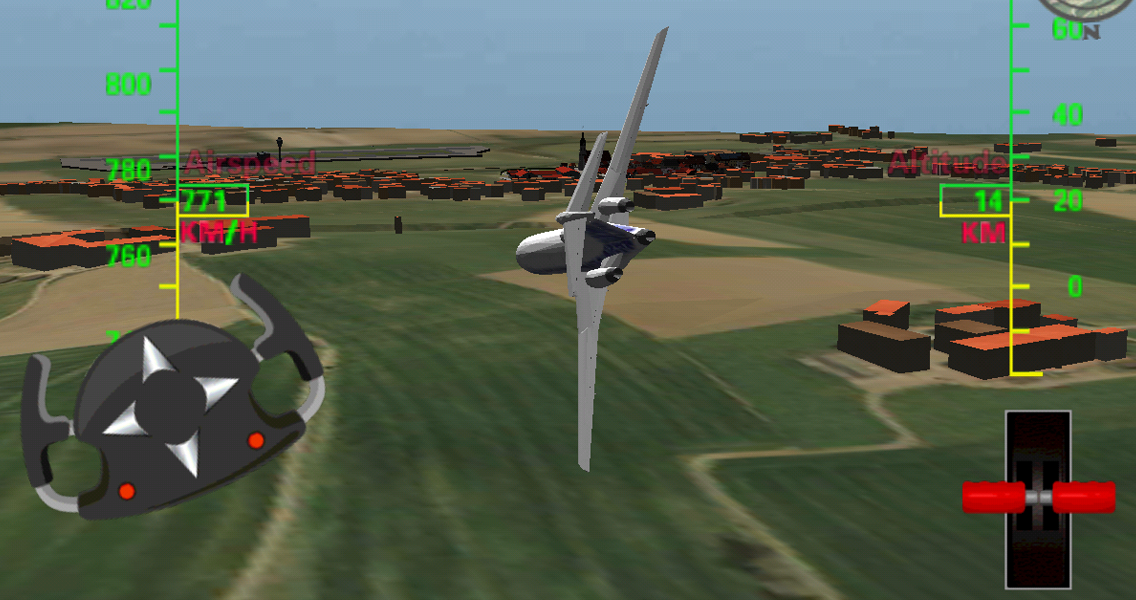how to play 3d flight simulator 2