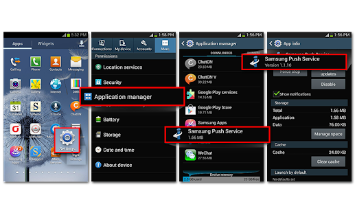Samsung Push Service - screenshot thumbnail