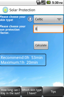 Solar Protection Free- screenshot thumbnail