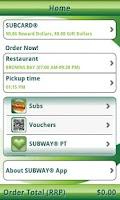 Screenshot of SUBWAY® New Zealand