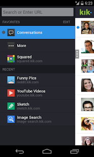 Kik Messenger - screenshot thumbnail
