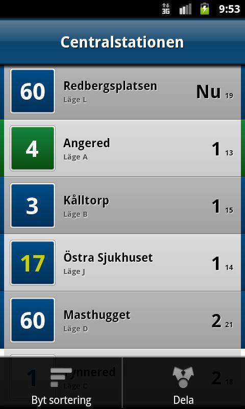 Hållplatsen- screenshot