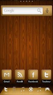 ADWTheme Wood Screenshot 2