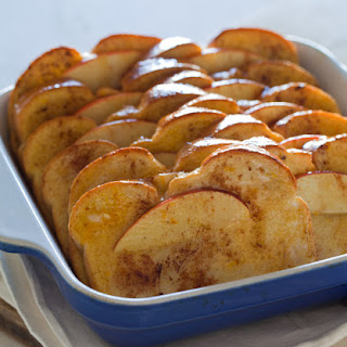 Baked Apple Cinnamon French Toast.