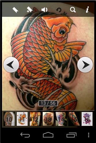 Koi Tattoo Ideas