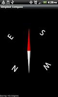 Screenshot of Simplest Compass