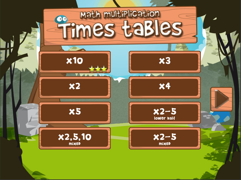 Math times tables (FULL) - screenshot