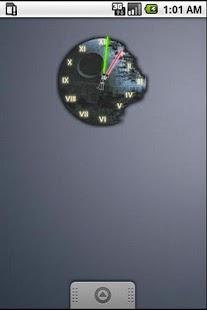 Death Star Clock Widget