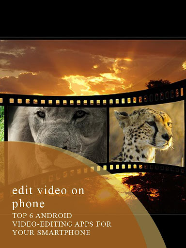 Edit Video on Phone Apps