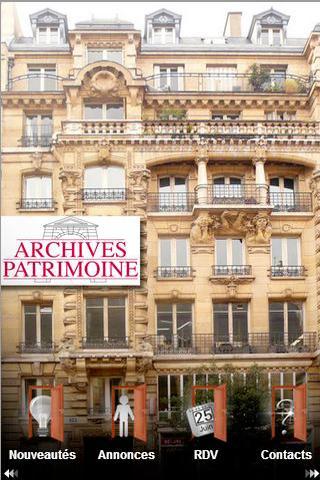 Archives Patrimoine