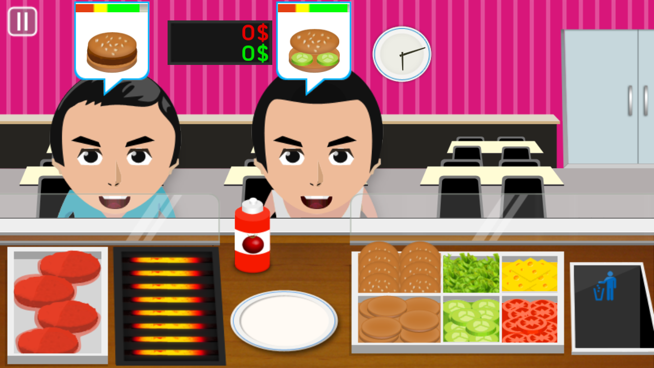 Burger Cooking Game- screenshot