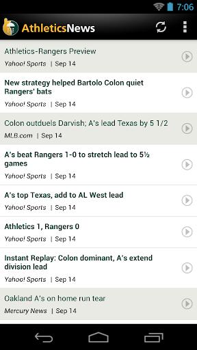 Oakland Baseball News for PC