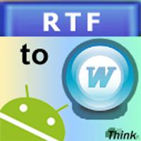 RTF To Word (.doc) 1.1