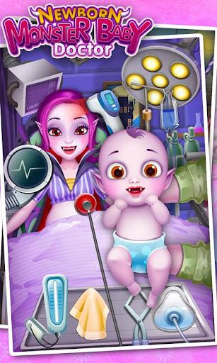 Monster's Newborn Baby Doctor